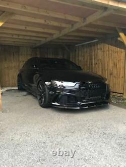 Séparateur pour Audi RS6 4G C7 Avant Pare-Choc Bas Bague Tablier Menton Jupe