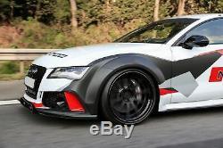 Spoiler Pare-chocs avant pour AUDI A7 RS7 4G Sport 10-18 Carbone véritable