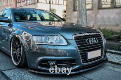 Spoiler de pare-chocs avant jupe pour Audi A6 S6 4F S-Line Facelift 08-11