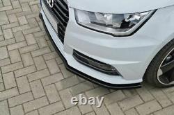 Spoiler / jupe / jupe de pare-chocs avant pour Audi A1 8X Sportback S-line