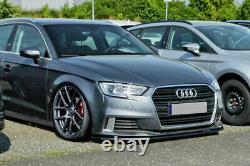 Spoiler / jupe / jupe de pare-chocs avant pour Audi A3 8V Facelift 2017+