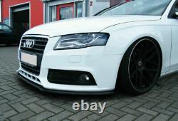 Spoiler / jupe / jupe de pare-chocs avant pour Audi A4 B8 s-line 2008-2012