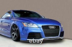 Spoiler / jupe / jupe de pare-chocs avant pour Audi TT RS 8J 2009+