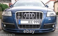 Sport Ligne Appron pour Audi A6 4F C6 04-08 Avant Pare-Choc Spoiler Bague Jupe S