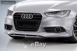 Sport Séparateur pour Audi A6 4G C7 Se Pare Choc avant Bas Menton Jupe