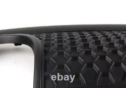 Véritable Pare-Chocs Satin Noir Jupe Réflecteur pour Audi Tt 8N S-LINE